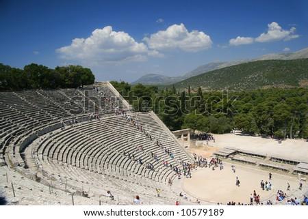 Epidaurus Amphitheater, Greece