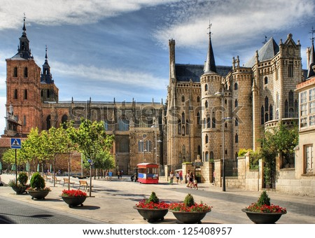 Episcopal Palace and Saint Mary Cathedal, Astorga
