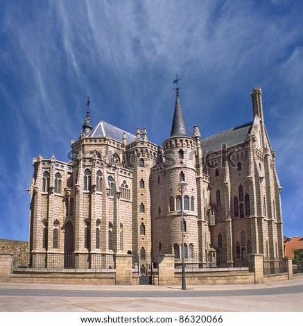 Episcopal Palace, Astorga, Pilgrim route to Santiago de Compostela, Spain, UNESCO World Heritage Site