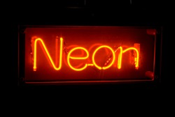 eponymous neon sign