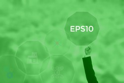 EPS10 - technology and business concept