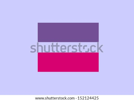 equal sign a symbol of Bisexual marriage equality sign Human Rights Campaign - stock photo