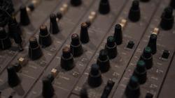 equaliser machine for music recording