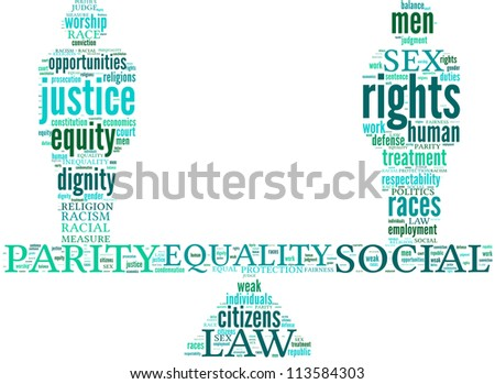 equality symbol tag cloud