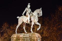 Equestrian statue of Emperor Wilhelm II in Cologne