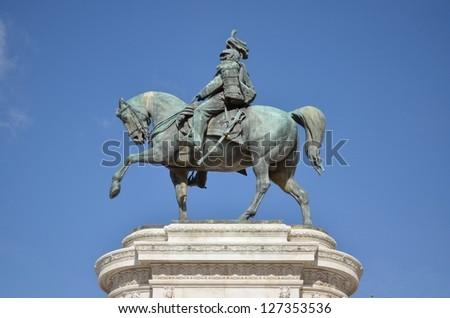 Equestrian Statue of Victor Emmanuel II, Piazza Venezia, Rome