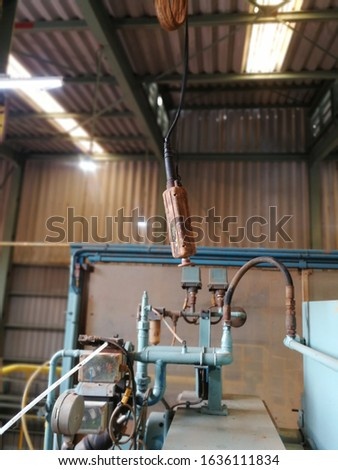 Equipment for controlling old machinery and Boran