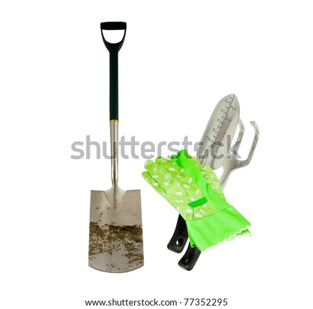 equipment for digging in the garden!
