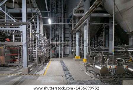 Equipment for preparation of beeer.