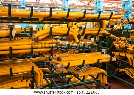 Equipment for the production of cars on the background of production #1539221087