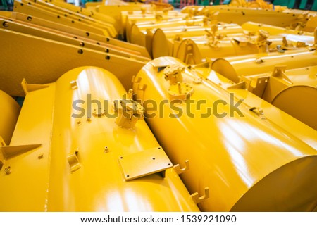Equipment for the production of cars on the background of production #1539221090