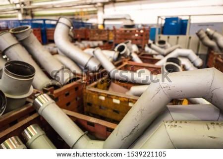 Equipment for the production of cars on the background of production #1539221105