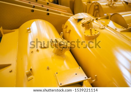 Equipment for the production of cars on the background of production #1539221114