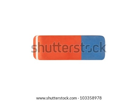 eraser on white background with clipping path #103358978