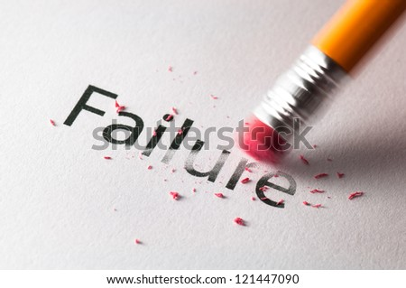 Erasing failure
