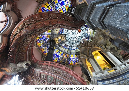 Erawan Museum In Samut Prakan Near Bangkok, Thailand. Stock Photo 61418659 : ...