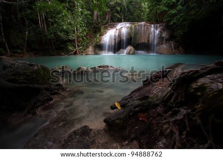 Erawan Waterfall 1, Thailand