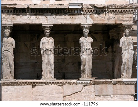 Erechtheion at Acropolis Athens