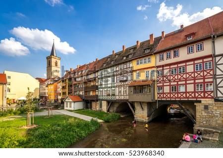 Erfurt, Kraemerbruecke #523968340