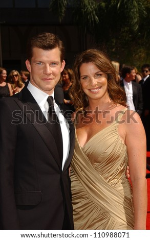 Eric Mabius and wife Ivy arriving at the 59th Annual Primetime Emmy Awards. The Shrine Auditorium, Los Angeles, CA. 09-16-07