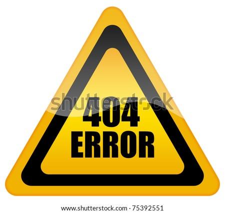 Error 404 icon
