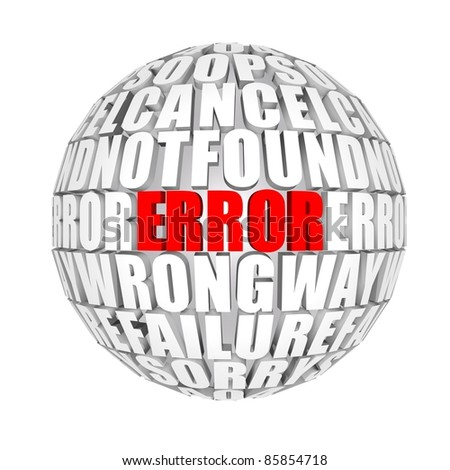 errors around us
