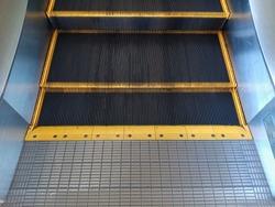 Escalator in the hotel