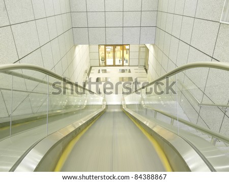 Escalator to underground