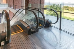 Escalator with up and down