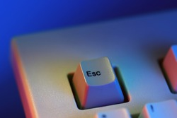 Escape Esc (escape computer keyboard key)