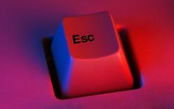 Escape Esc (escape keyboard key)