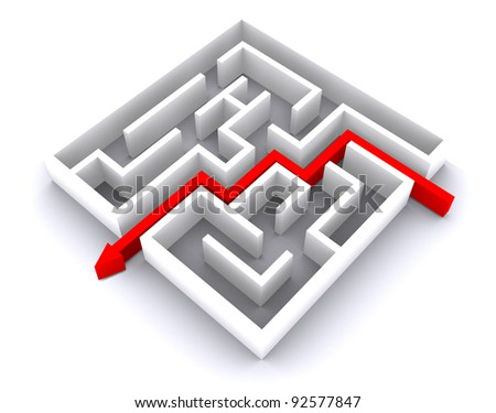 escape from labyrinth, business task