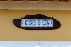 Escola (School) ceramic tiles