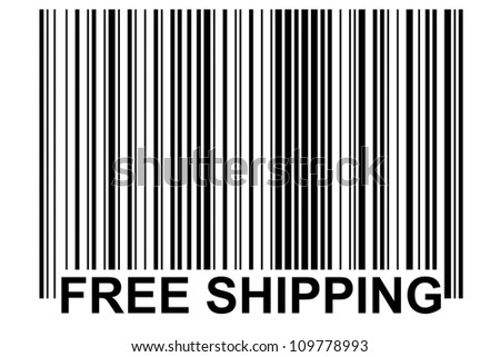 especially generated barcode - free shipping