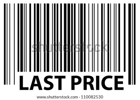 especially generated barcode - last price