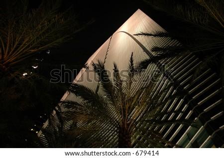 Espirito Santo building at night (Miami, FL)