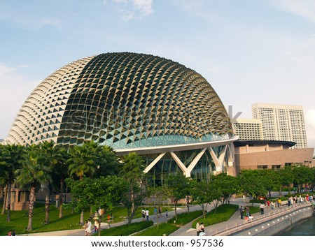 Esplanade Convention Centre at Singapore