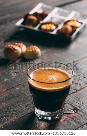 Espresso Coffee and Chocolate #1056753128