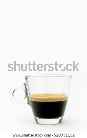 Espresso coffee  with copy space #520931152