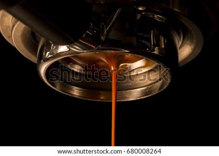 Espresso Shot From Espresso Machine
