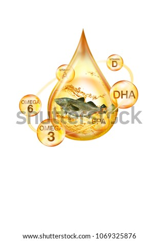 essential of cod liver oil ingredient and nutrution #1069325876