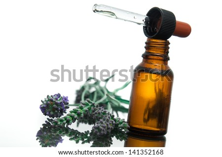 Essential oil with lavender