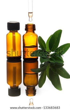 Essential oil with sage