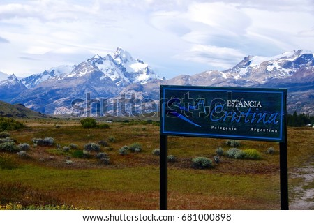 Estancia Cristina Patagonia Argentina #681000898