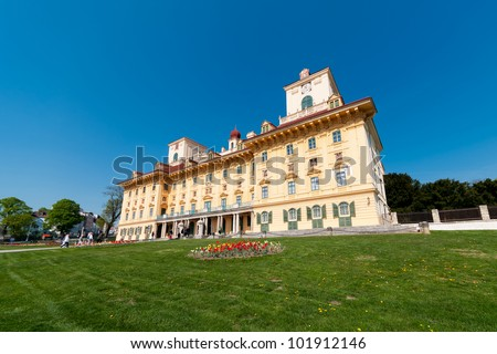 Esterh�¡zy castle - stock photo