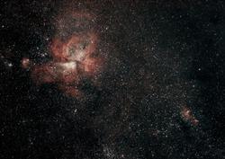 Eta Carinae Nebula. Astrophotography. Carina Nebula. Nebulosity. Galaxy.
