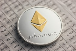 ethereum coin on exchange charts
