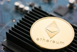 Ethereum Coin rendering engine cryptocurrency
