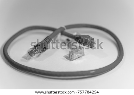 Ethernet Cable, internet connection cable, lan cable, network cable  #757784254