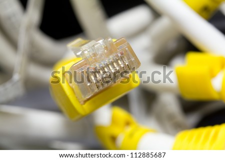 Ethernet connector.